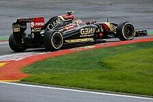 Formel 1 - Auch Grosjean nicht bei der Musik: Lotus: Maldonado dreht sich ins Abseits