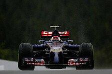 Formel 1 - Sechster Verbrennungsmotor im Einsatz: Kvyat bekommt erste Power-Unit-Strafe