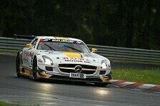VLN - Starkregen sorgt f�r Chaos: Rowe Racing siegt im Regenchaos