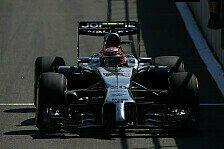 Formel 1 - Duell mit Alonso: Strafe f�r Magnussen: Keine Punkte