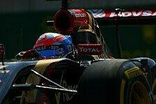 Formel 1 - Monza war wie eine Strafe: Romain Grosjean: Gro�e Hoffnung f�r Singapur