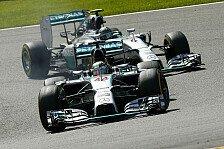 Formel 1 - Keiner wird nachgeben: H�kkinen: Mercedes-Konkurrenzkampf wird bleiben