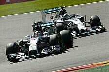 Formel 1 - Minderheit glaubt an Red Bull: Umfrage: Mercedes sein eigener gr��ter Feind