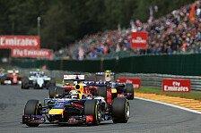 Formel 1 - R�ckendeckung von Ricciardo: Vettel: Mit Holzkn�ppel an die Front