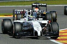 Formel 1 - Erst gl�cklich bei Rennsiegen: Massa: Williams braucht bessere Abl�ufe