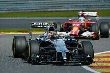 Formel 1 - Freud und Leid bei McLaren: Punkte f�r Button, Strafe f�r Magnussen