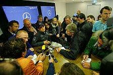 Formel 1 - Keine Details zum Meeting: Rosberg: Der Unfall war nicht meine Schuld