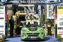 ADAC Opel Rallye Cup - Toller Sport im ADAC Opel Rallye Cup : Hattrick und Tabellenf�hrung f�r Tannert/Thielen