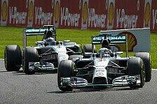 Formel 1 - Mehrheit sieht keinen Schuldigen: Umfrage: Rosberg/Hamilton normaler Rennunfall