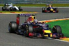 Formel 1 - Da war der Wurm drin: Vettel: Der Abstand in Spa war zu gro�