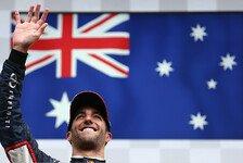 Formel 1 - Typisch f�r gro�e Qualit�t: Toro Rosso-Designer fr�h von Ricciardo beeindruckt