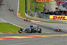 Formel 1 - Rosberg unterbietet erstmals Vorjahresbestzeit : Neue Formel 1 ist nicht nur langsamer