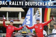 WRC - Gute Chancen auf den Sieg: Herzschlagfinale beim Heimspiel f�r Riedemann