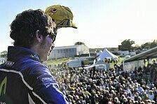 MotoGP - Verbleib erw�nscht: MSM-User: Rossi in MotoGP? Je l�nger, desto besser