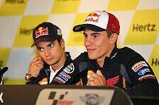 MotoGP - Perfekten Rhythmus bereits gefunden: Marquez: Rundum gl�cklich nach zehnter Saison-Pole