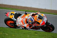 MotoGP - Guter Start und Rhythmus die Schl�ssel: Pedrosa: Im Rennen von Beginn an Attacke