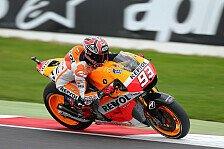 MotoGP - Dovizioso und Lorenzo in Reihe eins: Marquez f�hrt zur Pole in Silverstone