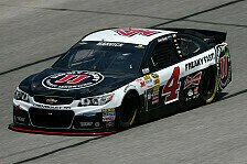NASCAR - NASCAR h�lt f�r Stewart die Chase-T�r offen : Pole Nummer sechs f�r Harvick