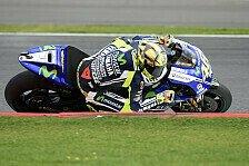 MotoGP - Yamaha bekommt Probeme in den Griff: Rossi: Bodenwellen verlangen Mut
