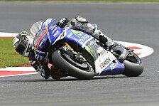 MotoGP - Weicher Vorderreifen keine Option f�rs Rennen: Lorenzo trotz Reihe eins mit Bedenken