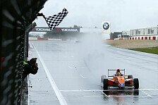 ADAC Formel Masters - Spannendes Duell mit dem Teamkollegen: Marvin Dienst siegt im Eifel-Regen