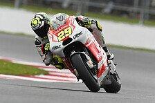 MotoGP - Pramac verpasst optimale Ausbeute: Iannone: Sturz verhinderte Startreihe eins