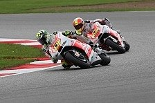 MotoGP - Gute Punkte trotz Einbruch f�r beide Piloten: Pramac: Iannone trotzt Reifenproblemen