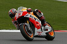 MotoGP - Drei Zehntel voran im Warm-Up: Marquez: 6. Bestzeit in 6. Session