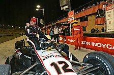 IndyCar - Freudentr�nen bei Power: Sieg f�r Kanaan, Titel f�r Power