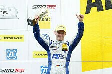 ADAC Formel Masters - Erfolgreicher Ausflug an den N�rburgring: G�nther: Doppel-Podium f�r die Geschichtsb�cher