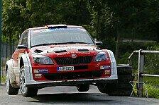 Mehr Rallyes - 0,2 Sekunden Vorsprung nach letzter Pr�fung: Herzschlagfinale: Wiegand erobert Platz 2
