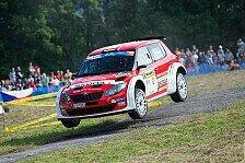 Rallye - Wiegand bei Halbzeit der Barum-Rallye auf Platz 2