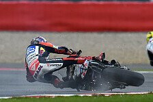 MotoGP - Taktikfehler in Training, Sturz im Qualifying: Bradl: Haben in die Schei�e gelangt