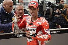 MotoGP - Freude �ber die Leistung in Silverstone: Dovizioso: Endlich auf Augenh�he mit Rossi