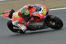 MotoGP - Zerst�rter Hinterreifen, Schmerzen in der Schulter: Crutchlow: Ich hatte Angst