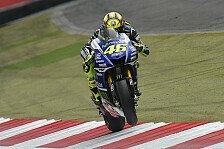 MotoGP - Kleine L�cke zu Beginn bereits entscheidend: Rossi: Hauchd�nn zum ersten Podium auf Wut-Strecke