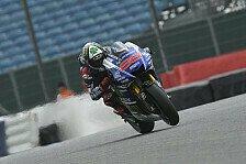 MotoGP - Nach fast einem Jahr zur�ck auf der Pole: Lorenzo: Trotz Fehler zur Bestzeit