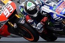 MotoGP - Meinungsverschiedenheit nach Kontakt: Marquez vs. Lorenzo: Kollision in Silverstone