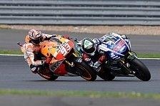 MotoGP - Bilder: Gro�britannien GP - Das Duell: Marquez gegen Lorenzo