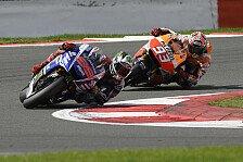 MotoGP - Silverstone in der Nachbetrachtung: Analyse: Marquez vs. Lorenzo & Bradls Fehler
