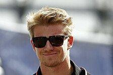 Formel 1 - Sitze komfortabel da: H�lkenbergs Zukunft: Keine Kopfschmerzen