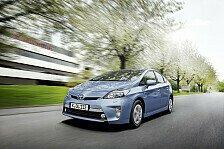 Auto - Keiner ist sparsamer als der Toyota Prius Plug-in Hybrid: Toyota Prius siegt in Vergleichstest