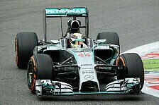 Formel 1 - Button jagt Mercedes: 1. Training: Hamilton mit Bestzeit