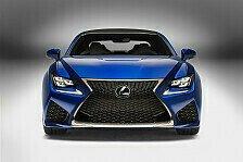 Auto - Bislang Leistungsst�rkstes V8-Sportcoupe: Lexus stellt den RC F vor