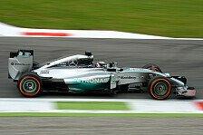 Formel 1 - Hoffnung auf Hilfe von Rosberg: Hamilton von Elektronik-Problem gestoppt
