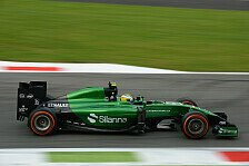 Formel 1 - Von eigener Pace �berrascht: Merhi zufrieden mit Debut