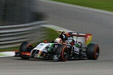 Formel 1 - Nach acht Runden war Schluss: Juncadella: Herausforderung durch harte Reifen