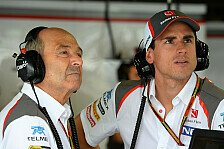 Formel 1 - Wird manchmal eng mit DRS: Adrian Sutil: Irgendwo ist dann halt Schluss