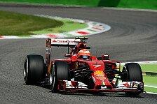 Formel 1 - Alonso und R�ikk�nen erste Mercedes-Verfolger: Ferrari: Guter Auftakt beim Heimspiel