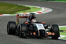 Formel 1 - Saison vergeht wie im Flug: Nico H�lkenberg: Besch�digter Unterboden in Monza